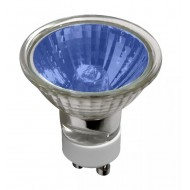Halogen/240V  50W 50MM GU10  38DEG  4000HR BLUE
